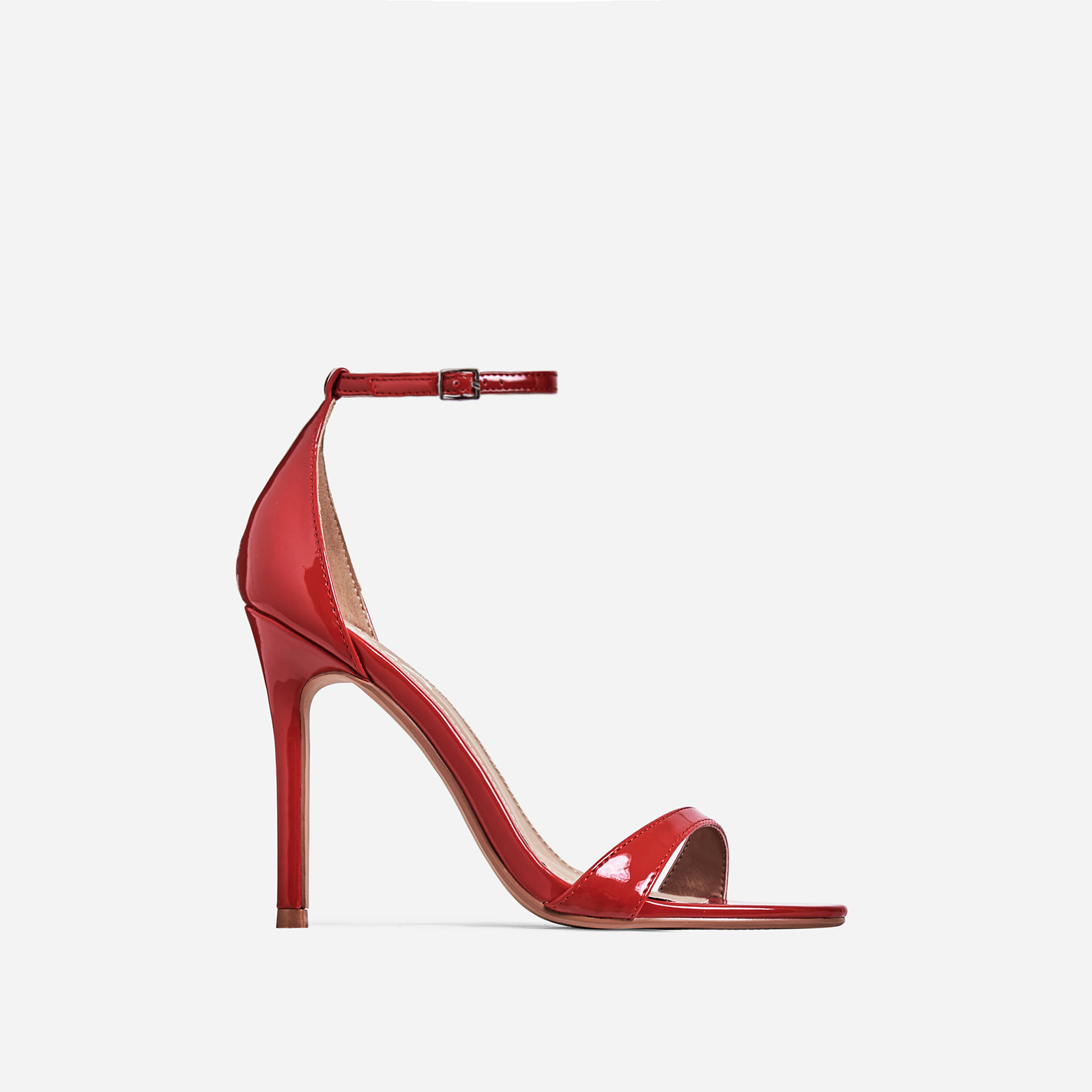 Archer Barely There Heel In Red Patent