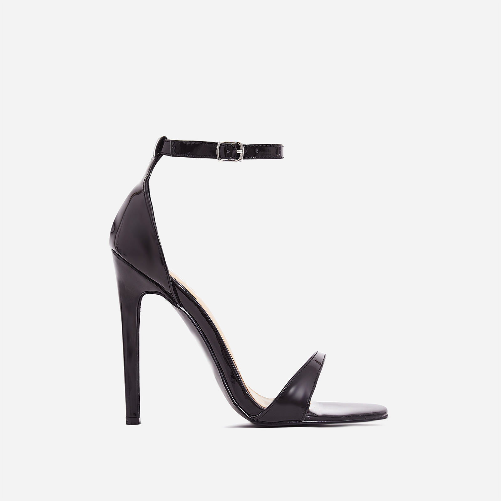 Archer Barely There Heel In Black Patent