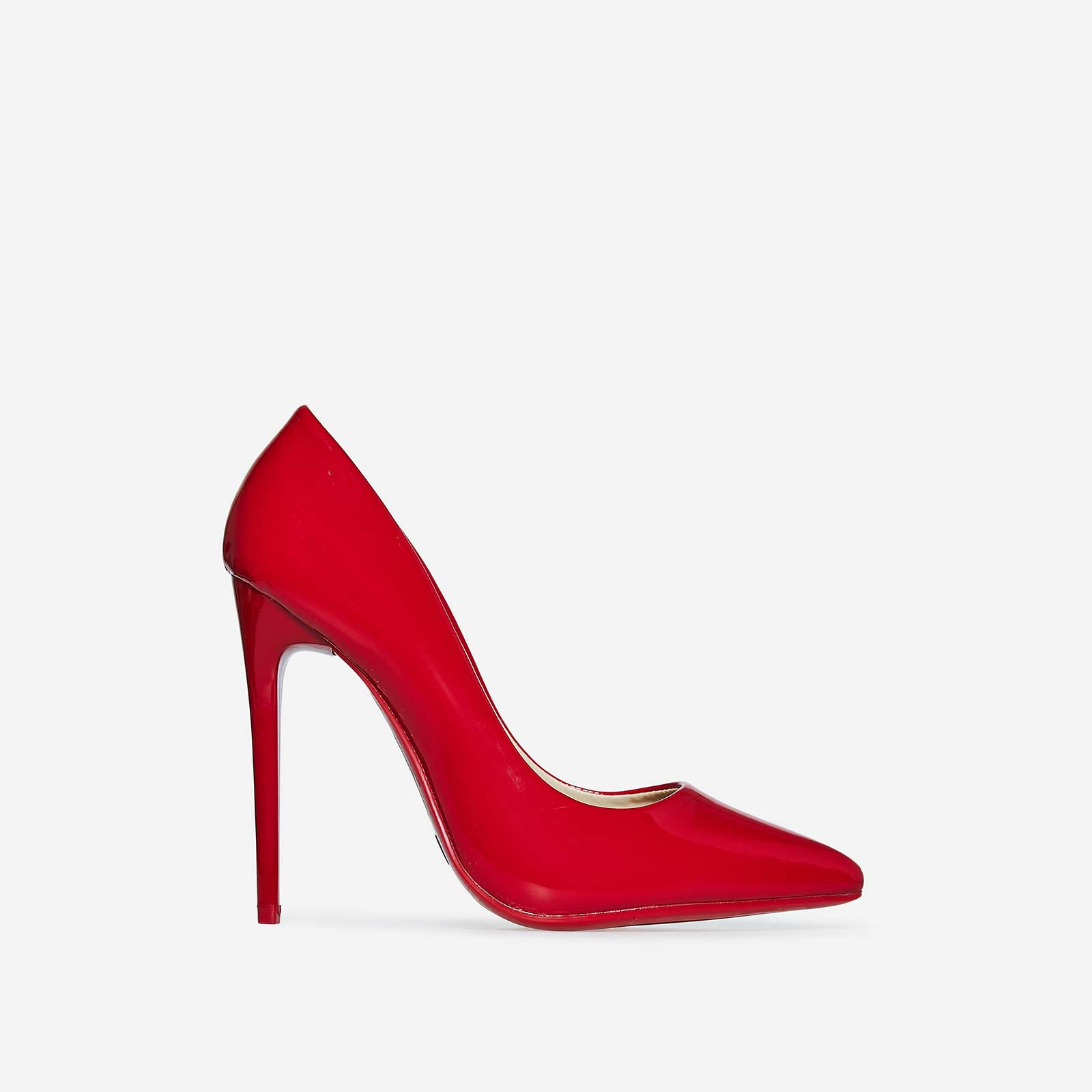 Bronte Court Heel In Red Patent