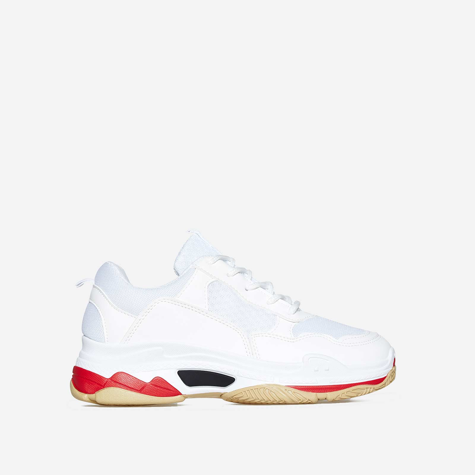 Elijah Chunky Trainer In White