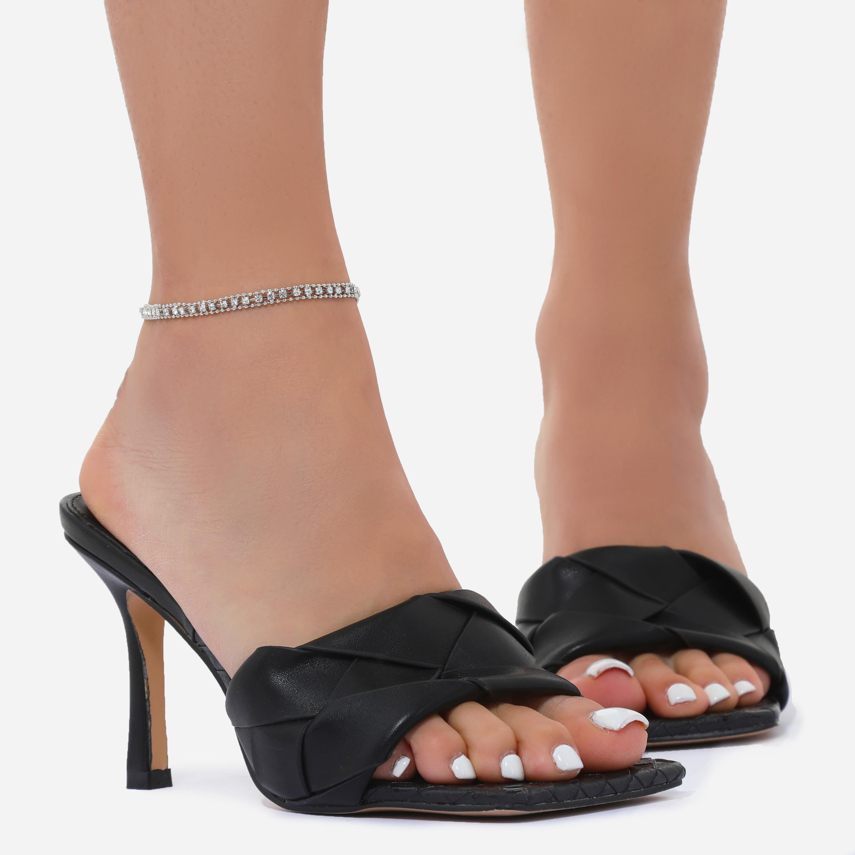 Delicate Diamante Anklet In Silver