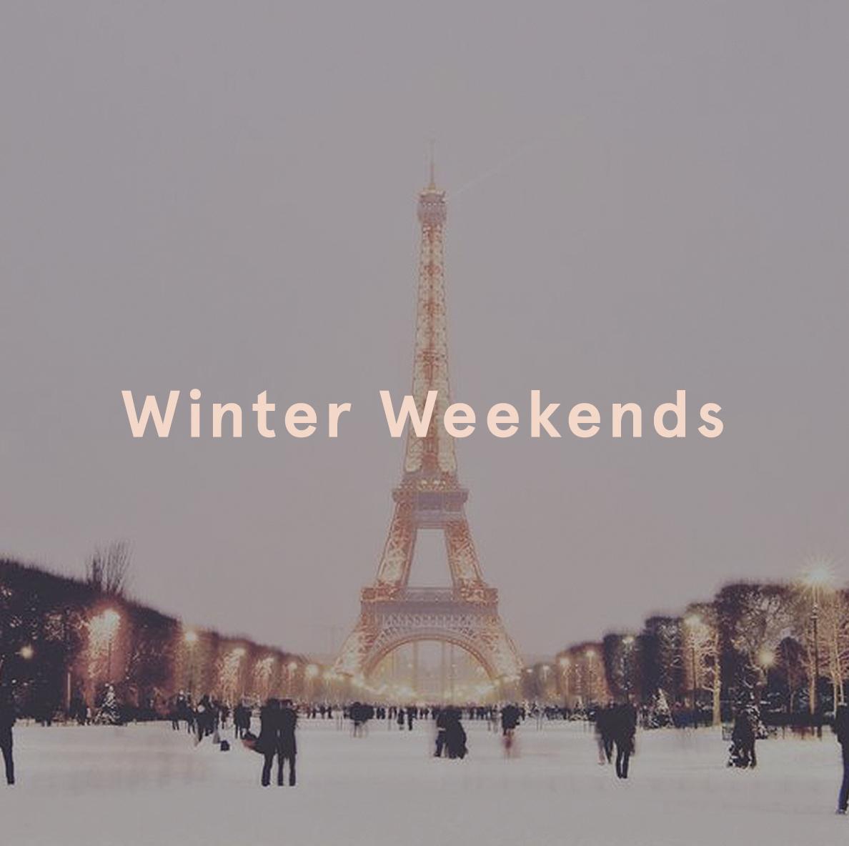 Winter Breaks Ego European Weekends Paris Eiffel Tower