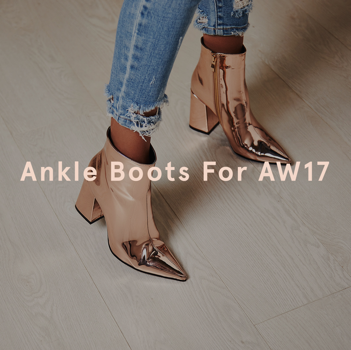 AW17 Ankle Boots