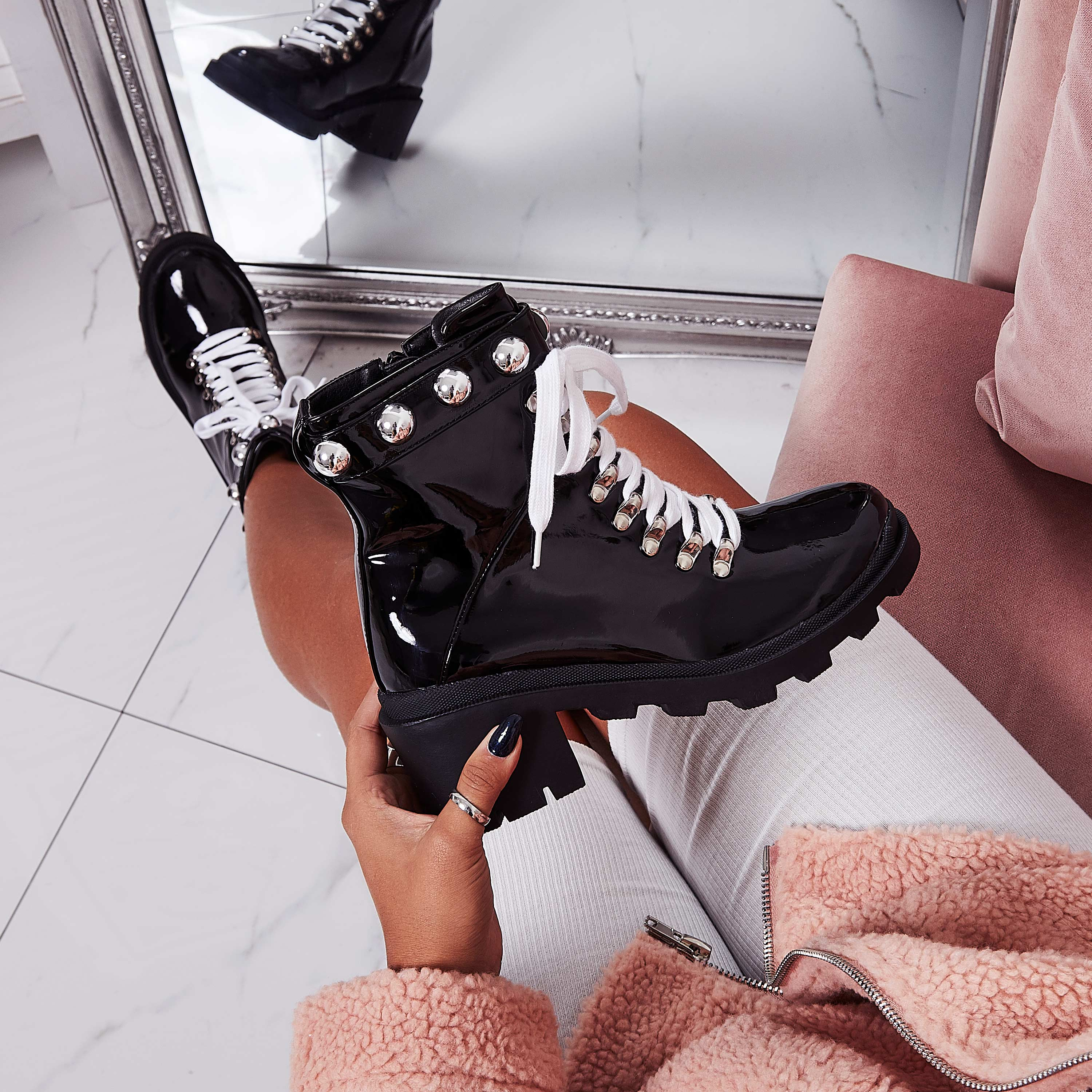 the black studded boots you need in your shoedrobe